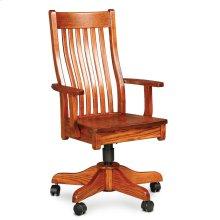 Urbandale II Arm Desk Chair, Fabric Cushion Seat