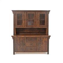 Oak Haven - 2 Piece Buffet and Hutch - (3 Drawer 2 Door Buffet)