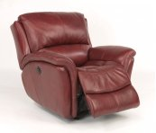 Dominique Leather Power Gliding Recliner