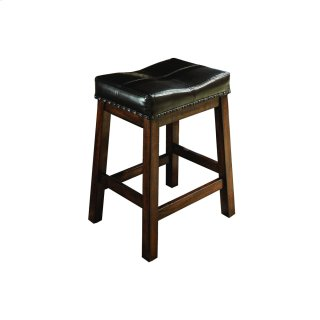 "Dining - Kona 24"" Backless Barstool"