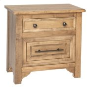 Beacon Hill 2 Drawer Nightstand Product Image