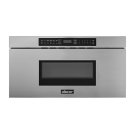"""Modernist 30"""" Microwave-In-A-Drawer, Silver Stainless Steel Product Image"""