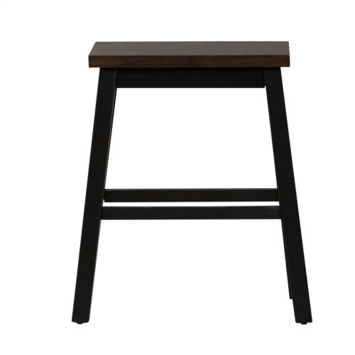 3 Piece Counter Set - Black & Chestnut
