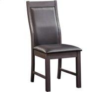 Alpine Chair Gray Wash with Black Vinyl