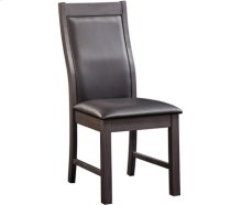 Alpine Chair Gray Wash with Black Vinyl