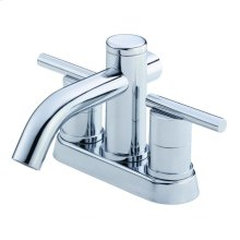 Chrome Parma® Two Handle Centerset Lavatory Faucet