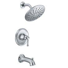 Dartmoor chrome posi-temp® tub/shower