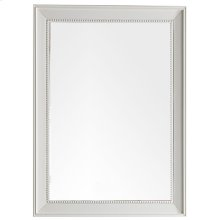 """Bristol 29"""" Rectangular Mirror, Cottage White"""