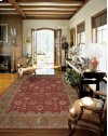 HERITAGE HALL HE13 BRK ROUND RUG 9' x 9'