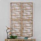 Quaid Metal Wall Panels, S/2 Product Image