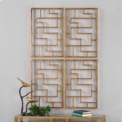 Quaid Metal Wall Panels, S/2