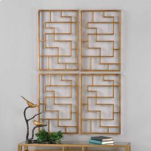 Quaid Metal Wall Panels, S/2