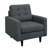 Kesson Mid-century Modern Charcoal Chair
