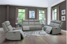 Loveseat Dual Rec Pwr With Usb & Pwr Hdr
