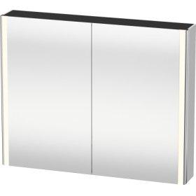 Mirror Cabinet, White Satin Matt Lacquer