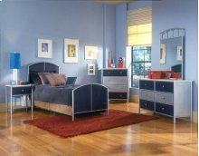 Brayden 4pc Mesh Twin Bedroom Suite