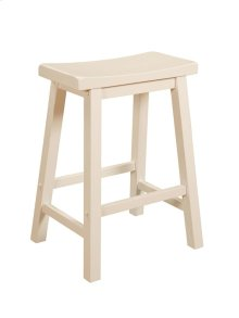 "Color Story ""Pure White"" Counter Stool"