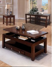 Espresso Coffee & End Table Set Product Image