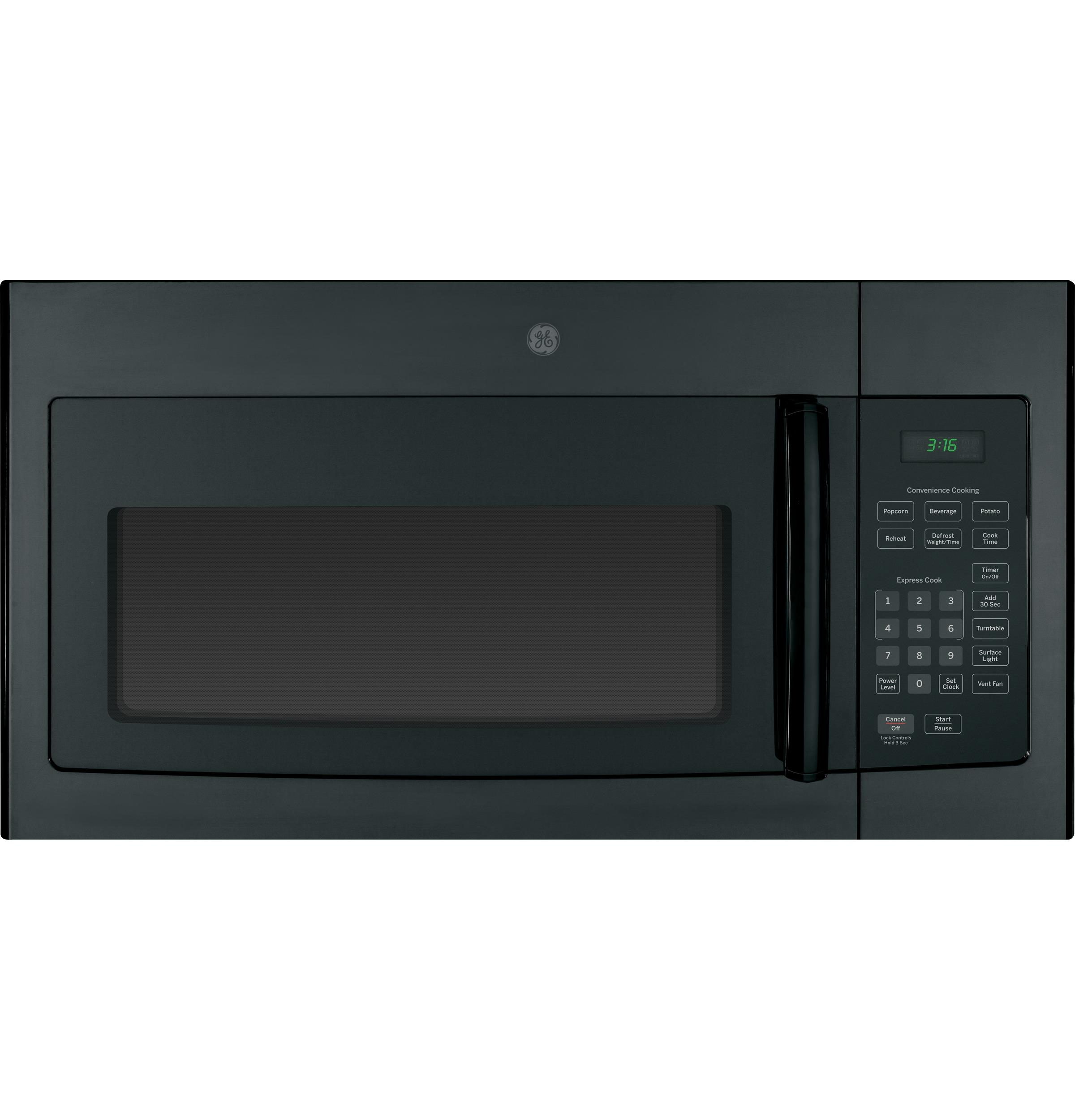 GE(R) 1.6 Cu. Ft. Over-the-Range Microwave Oven