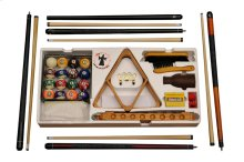 Pool Table Accessory Kit Swirl Balls
