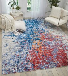 Twilight Twi25 Red/blue Rectangle Rug 2'3'' X 3'