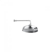"""12"""" Traditional Showerhead - Unlacquered Brass"""