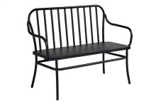 Blackened Bronze Park Bench