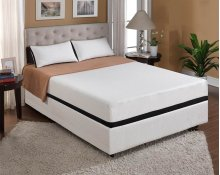 "Mattress Moonlight 10""gel- Memory Foam Full 4/6"