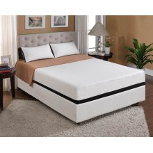 "Mattress Moonlight 10""gel- Memory Foam Cal King 6/0"