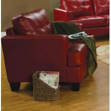 Samuel Transitional Red Chair