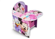 Minnie Mouse Chair Desk with Storage Bin - Style-1
