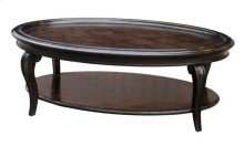 Continental Oval Cocktail Table - Vintage Melange