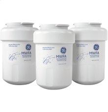GE® REFRIGERATOR WATER FILTER 3-PACK