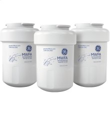 GE® REFRIGERATOR WATER FILTER 3-PACK