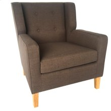 Trent Upholstered Grey Arm Chair