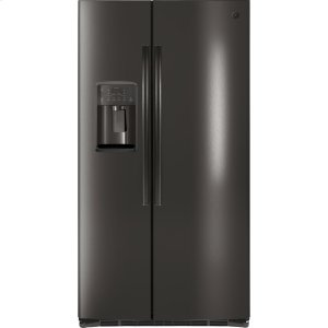 ®ENERGY STAR® 25.3 Cu. Ft. Side-By-Side Refrigerator - BLACK STAINLESS