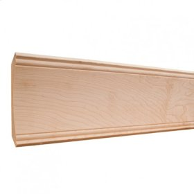 """5-1/4"""" x5-1/4"""" x 3/4"""" Cove Crown Moulding, Species: Alder Priced by the linear foot and sold in 8' sticks in cartons of 56' feet.."""