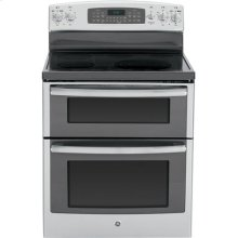 """GE Profile™ Series 30"""" Free-Standing Double Oven Range with Convection"""