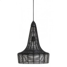 Hanging lamp 34x45 MELIA matt black
