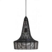 Hanging lamp 34x45 MELIA matt black