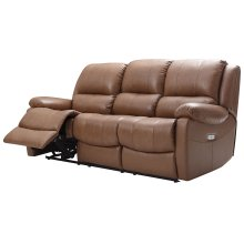 E1716 Xan Pwr Sofa 177136lv Peanut Brown