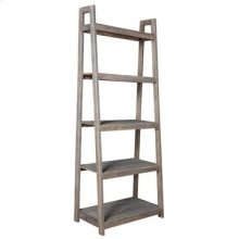 Bengal Manor Acacia Wood Light Grey Angled Etagere