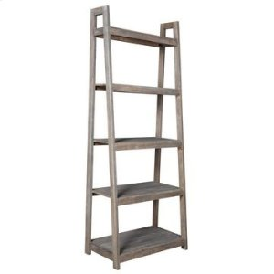 CRESTVIEW COLLECTIONSBengal Manor Acacia Wood Light Grey Angled Etagere