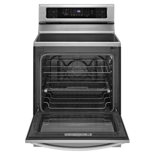 30-Inch 4-Element Induction Freestanding Range, Architect® Series II - Stainless Steel