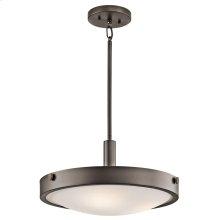 Lytham Collection 3 Light Convertible Semi Flush Ceiling Light - OZ