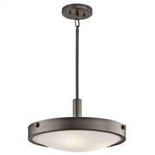 Lytham Collection 3 Light Convertible Semi Flush Ceiling Light - OZ
