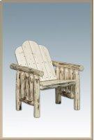 Montana Log Deck Chair Product Image