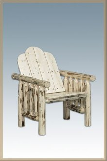 Montana Log Deck Chair