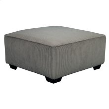 Signature Design by Ashley Jinllingsly Oversized Accent Ottoman in Gray Corduroy [FSD-1949OTT-GRY-GG]