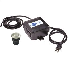 SinkTop Switch - Dual Outlet (Satin Nickel Buttons included)